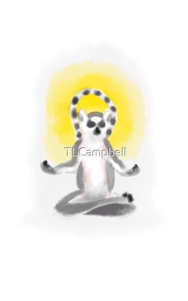 Zen Lemur by TLCampbell