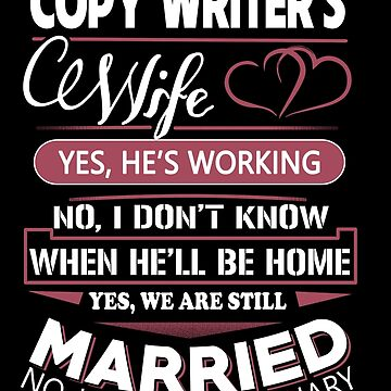Copy writer's Cewife by Bitushop