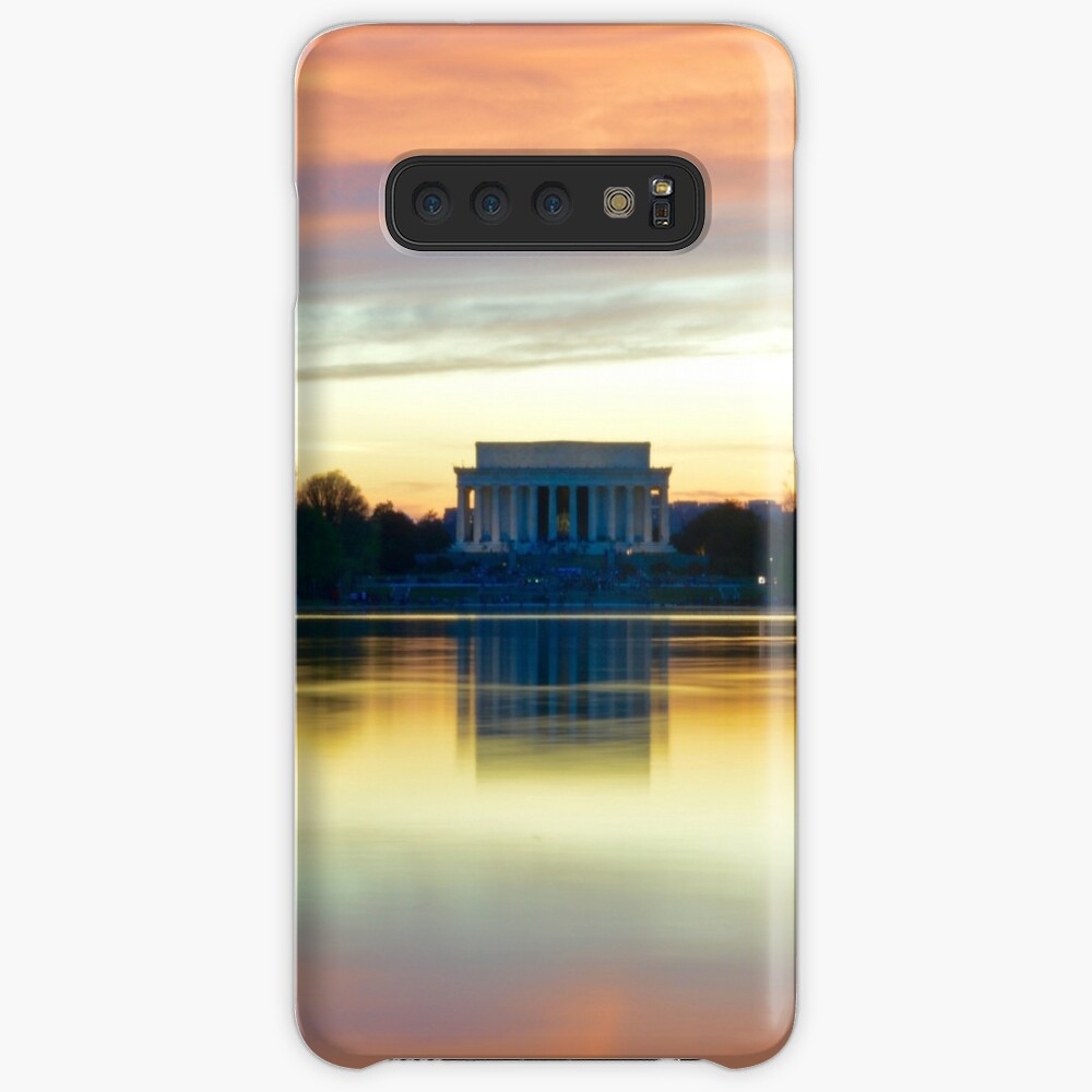 Lincoln Memorial Sunset Funda y vinilo para Samsung Galaxy