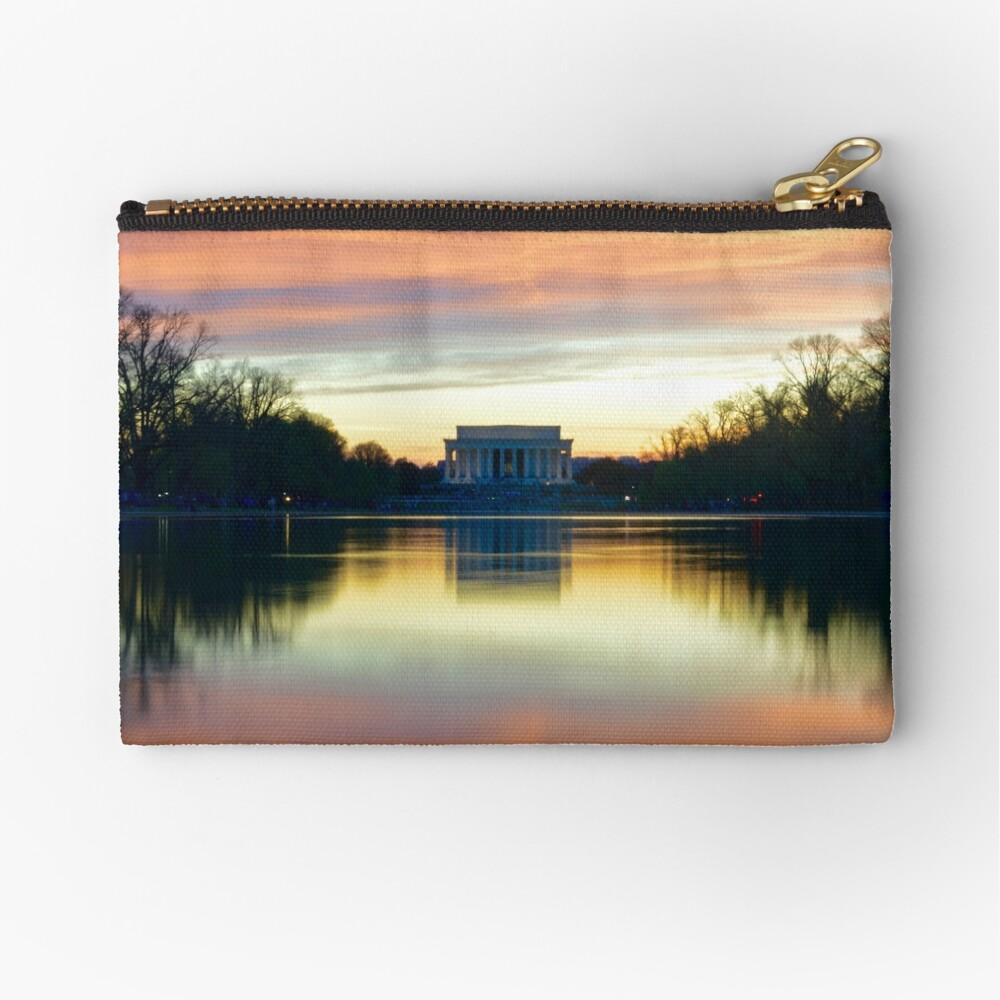 Lincoln Memorial Sunset Bolsos de mano