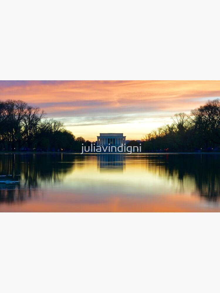 Lincoln Memorial Sunset de juliavindigni