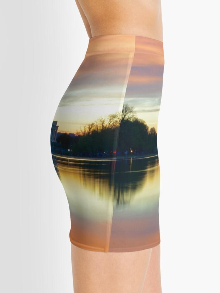 Vista alternativa de Minifalda Lincoln Memorial Sunset
