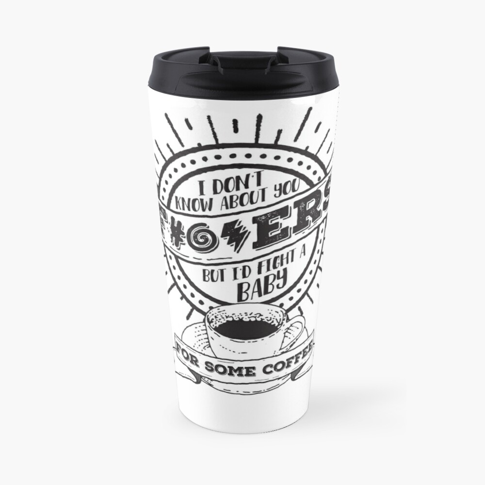 Dunno About You F---ers... Travel Mug