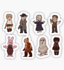 Silent Hill 3 Character Sticker Sheet Sticker