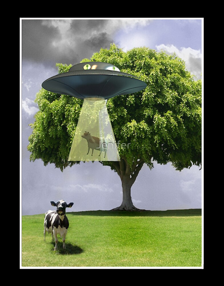 Abducting Cows by Jenifer