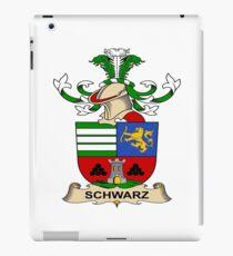 Schwarz iPad Case/Skin
