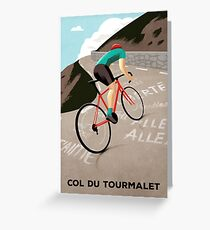 Col Du Tourmalet Greeting Card