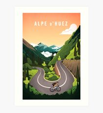 Alpe d'Huez Art Print