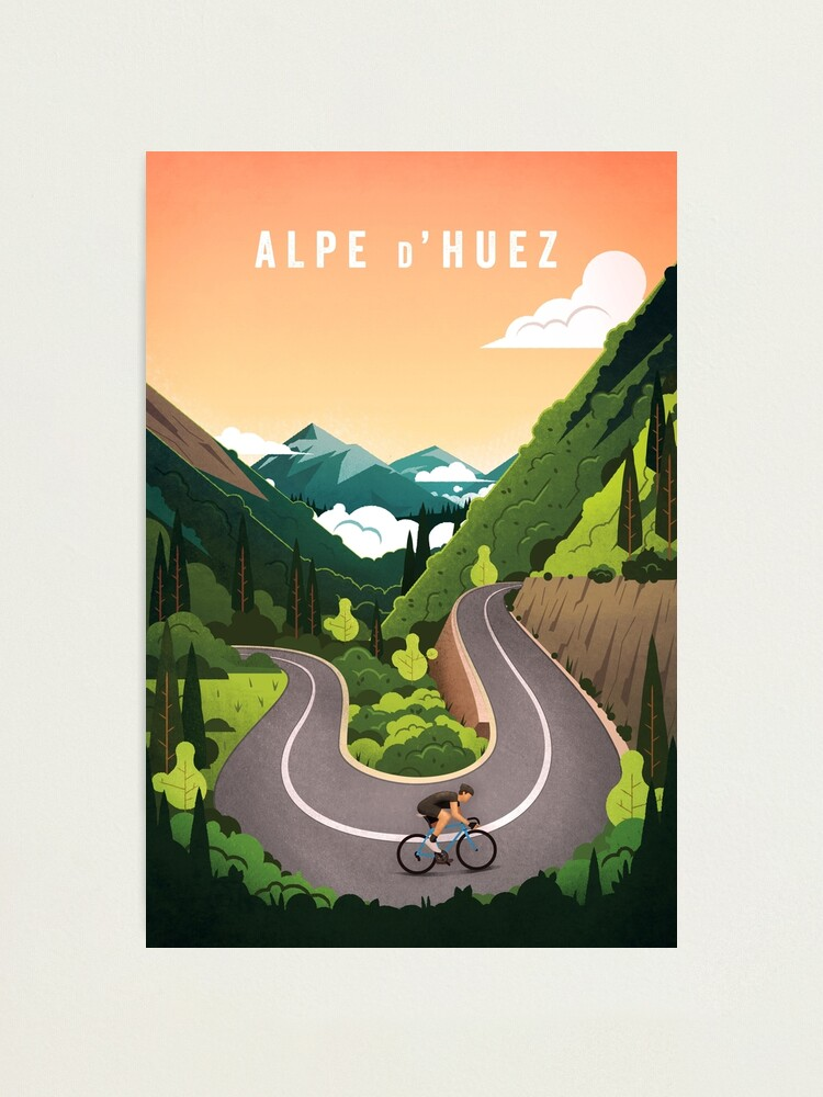 Alternate view of Alpe d'Huez Photographic Print
