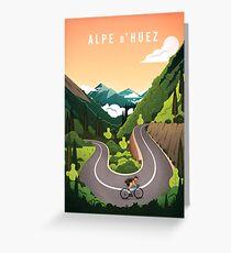 Alpe d'Huez Grußkarte