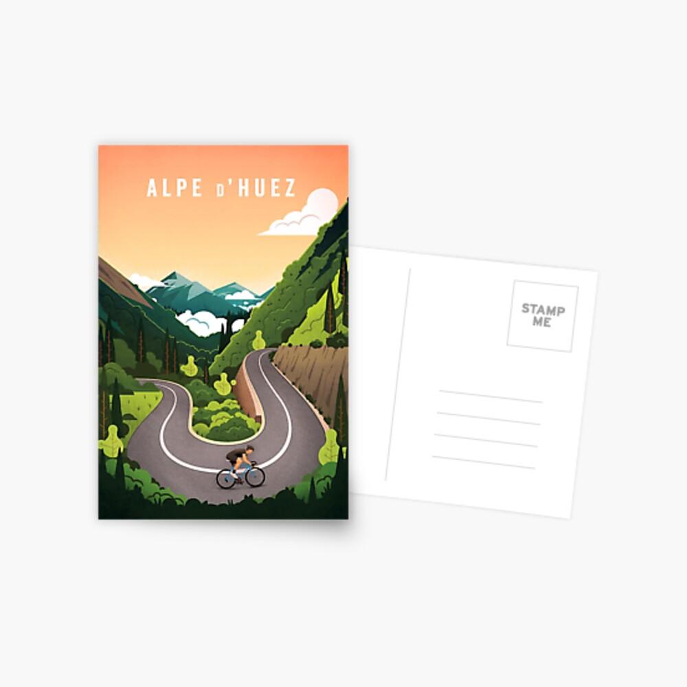 Alpe d'Huez Postkarte
