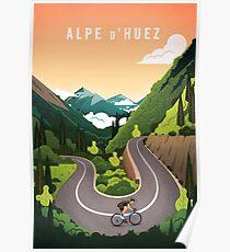Alpe d'Huez Poster