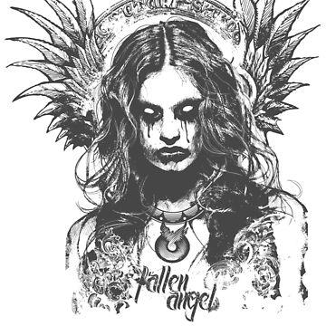 Fallen Angel  by chadlonius