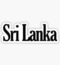 Sri Lanka Sticker