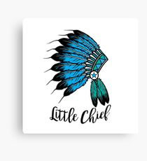 Little Chief Canvas Print