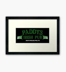 Paddy Irish Pub Gerahmtes Wandbild