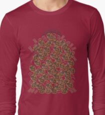 I Love Chocolate Chip Cookies Long Sleeve T-Shirt