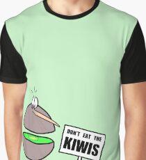 Don't Eat The Kiwis - Graphic T-Shirt