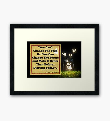 Life Is A Classroom Framed Print