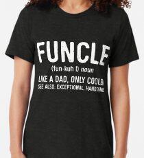 Funcle Definition Tri-blend T-Shirt