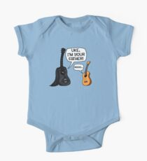 Uke I Am Your Father Funny Guitar And Ukulele Cartoon One Piece - Short Sleeve