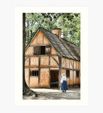 Jamestown Settlement Art Print