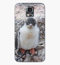 """Gentoo Penguin Chick ~ """"My life's goal....to grow into my feet!"""" Case/Skin for Samsung Galaxy"""