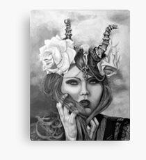 Skull Cap  Canvas Print