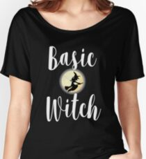Basic Witch Women's Relaxed Fit T-Shirt