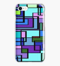 I Got the Blues Metro Dot Geometric Pattern  iPhone Case/Skin