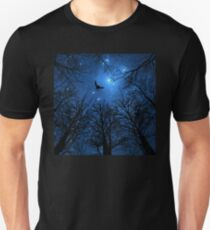 Wisdom Of The Night - Blue T-Shirt