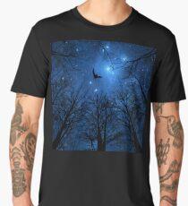 Wisdom Of The Night - Blue Men's Premium T-Shirt