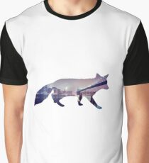 Fox in the City Graphic T-Shirt