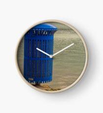 Lagoon Rubbish Bin Clock