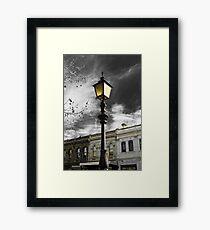 Lamp Mysticism Framed Print