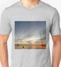 Boats at Sunrise - Monkey Mia T-Shirt