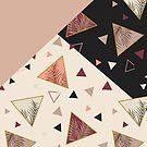 Triangles&Palms #redbubble #decor #buyart by designdn
