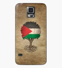Tree of Life with Palestinian Flag Case/Skin for Samsung Galaxy