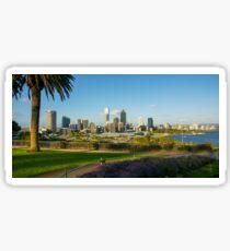 Kings Park, Perth Skyline, Western Australia Sticker