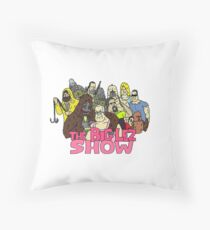 The Big Lez Show Squad Throw Pillow