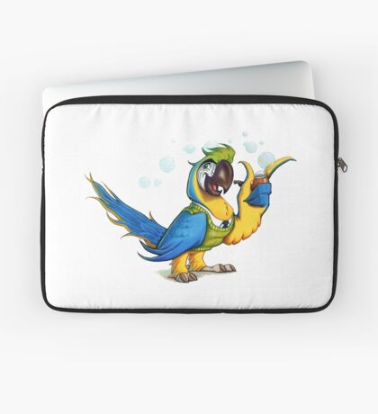 Professor Macaw. Laptop Sleeve