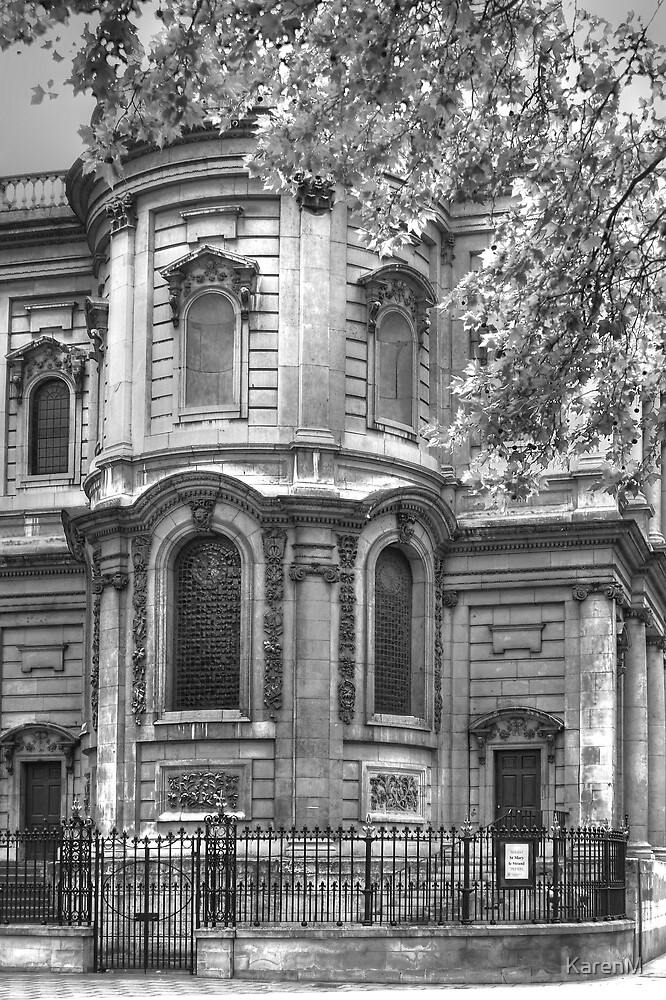 Back View of St Mary le Strand Church by KarenM