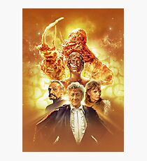 Doctor Who - Claws of Axos Photographic Print