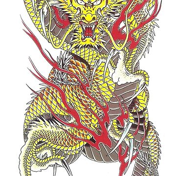 Cool dragon design by pepelover2015