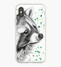 Racoon iPhone Case