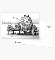Fishing Buddies Postcards