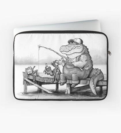 Fishing Buddies Laptop Sleeve