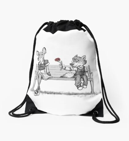 First Love Drawstring Bag