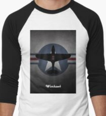 Curtiss P-40 Warhawk USAF Men's Baseball ¾ T-Shirt