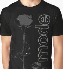 Mode Rose Black Graphic T-Shirt
